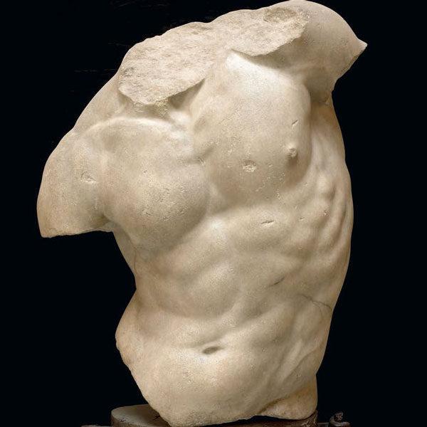 Мужской торс в античной скульптуре