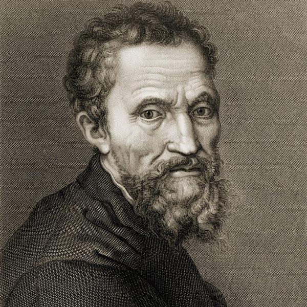 Скульптор Микеланджело Буонарроти