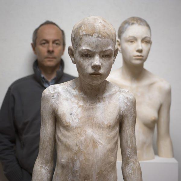Скульптор Бруно Уолпот