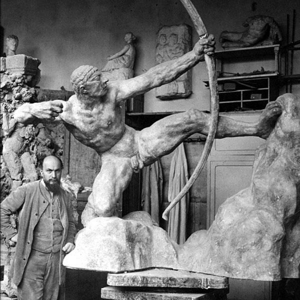 Скульптор Антуан Бурдель