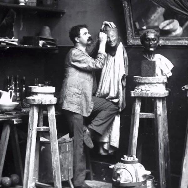 Скульптор Медардо Россо