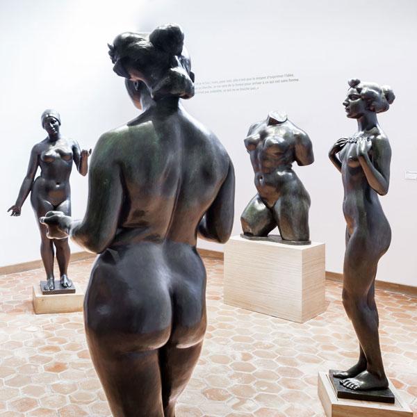 Музей скульптора Аристида Майоля в Париже