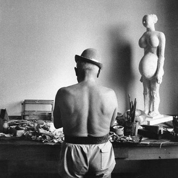 Скульптура Пабло Пикассо