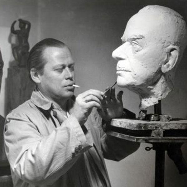 Густав Зейц немецкий скульптор