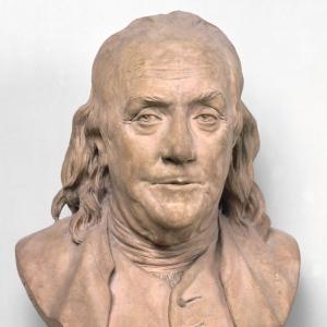 Французский скульптор Жан-Антуан Гудон