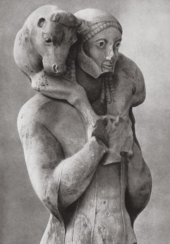 Мосхофор - скульптура