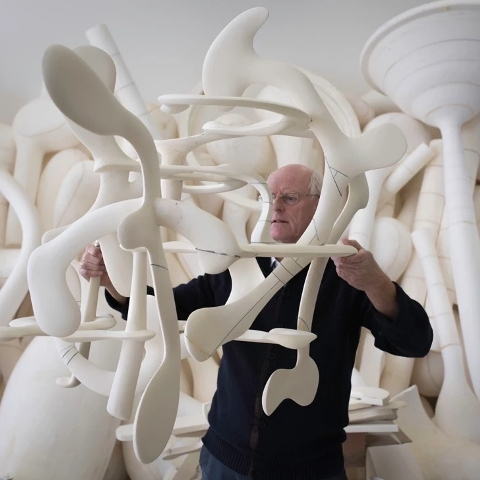 Скульптор Тони Крэгг