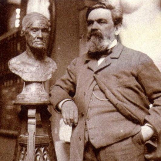 Скульптор Альфред Буше