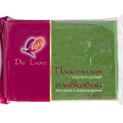 Пластилин Луч оливковый 300 г