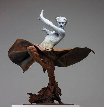 Современные скульпторы из Испании Кодерч и Малавия