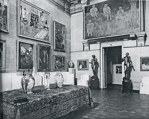 Белый зал особняка И. А. Морозова на Пречистинке в Москве