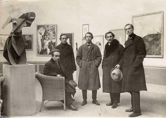 Организаторы Первой русской художественной выставки в галерее Ван Димена, Берлин, 1922