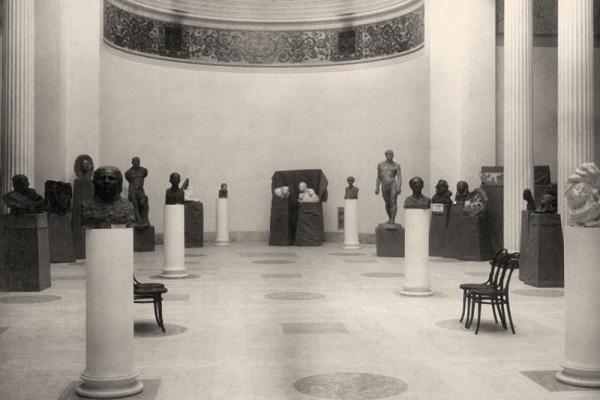 Персональная выставка А. С. Голубкиной в Музее изящных искусств в Москве, 1914-1915
