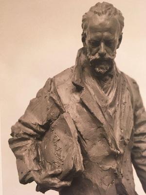 Эскиз памятника П. И. Чайковскому Екатерины Пильниковой, 2020