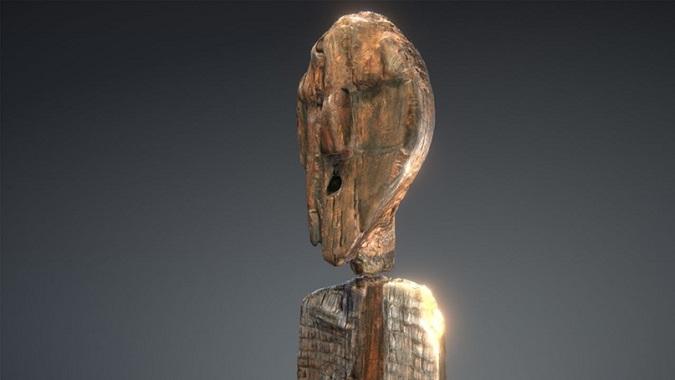 Шигирский идол, древнейшая известная деревянная скульптура в мире